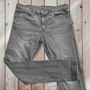 Levi's men's 510 gray jeans sz 34x32 (e902)